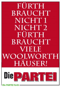 Plakat Partei Woolworth