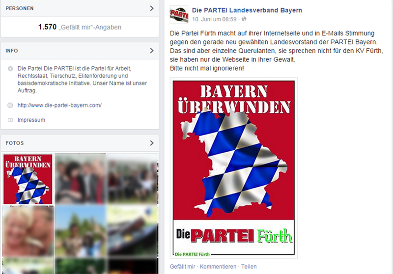 LPT Bayern Facbook Post
