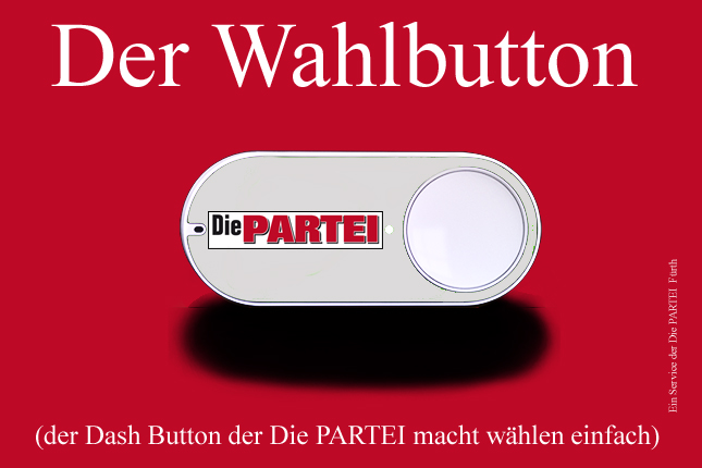 PARTEI Dash Button